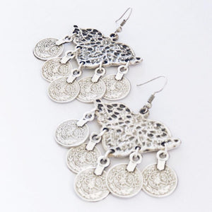 "Anatolian Earrings - ""Molten Coins"" - Earrings - Bohemian Jewellery and Homewares - Lost Lover"