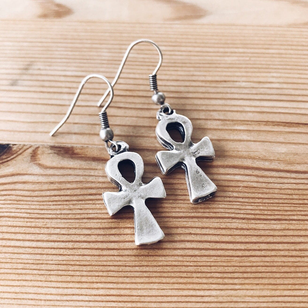 "Anatolian Earrings - ""Ankh"""