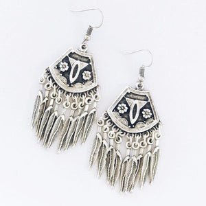 Anatolian Earrings - Nine Feathers - Earrings - Lost Lover