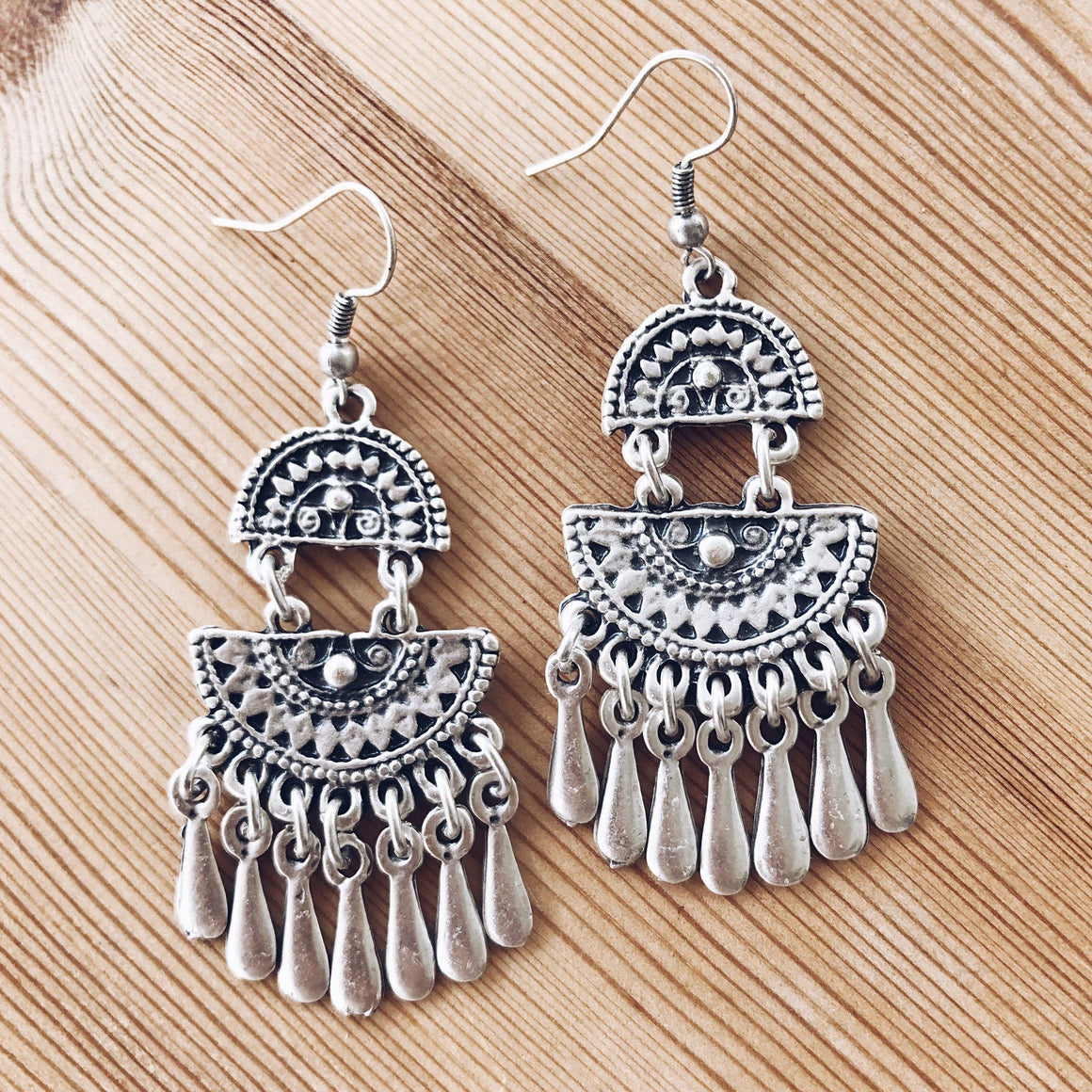 "Anatolian Earrings - ""Wild Droplet"""