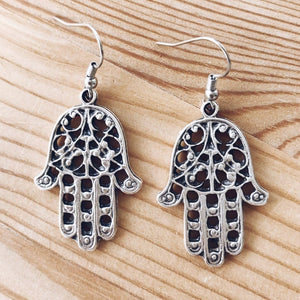 "Anatolian Earrings - ""Hamsa"" - Ring - Bohemian Jewellery and Homewares - Lost Lover"