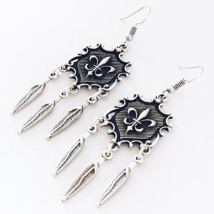 Anatolian Earrings - Fleur-De-Lis - Earrings - Lost Lover