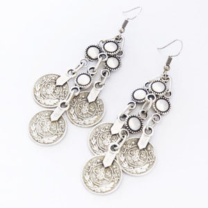 "Anatolian Earrings - ""Silver Lining"" - Earrings - Bohemian Jewellery and Homewares - Lost Lover"