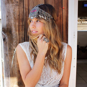 Gypsy headpiece - Laila - Headpiece - Bohemian Jewellery and Homewares - Lost Lover