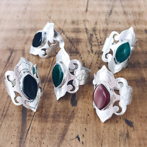 Ornate Tribal Ring - Multiple Colours - Ring - Lost Lover