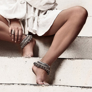 Vintage tribal anklet - Anklet - Bohemian Jewellery and Homewares - Lost Lover
