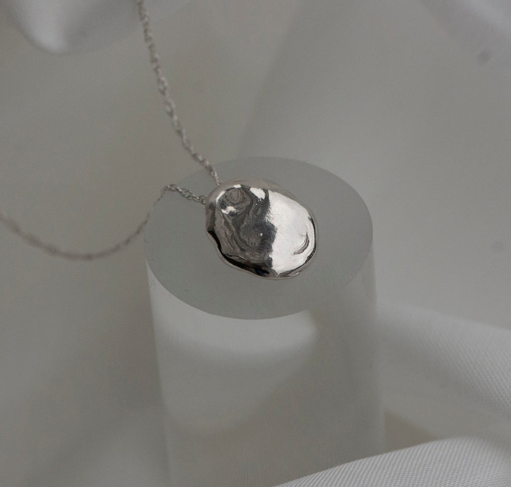 The Formless Sterling Silver Necklace - SHOPNECESSARY6.0