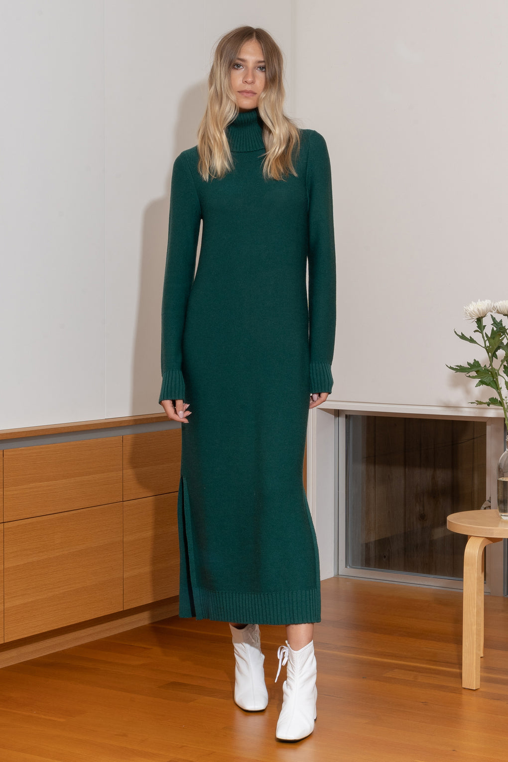 Kai Dress in Green - SHOPNECESSARY6.0