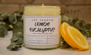 Lemon Eucalyptus Essential Oil Soy Candle
