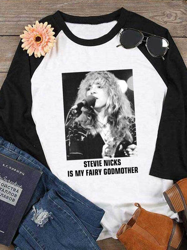 Stevie Nicks Is My Fairy Godmother T-Shirt