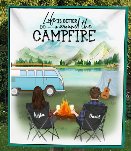 [PRE-SALE] Life Is Better Around The Campfire Quilt
