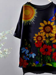 [PRE-SALE] Sunflower Sun Butterfly T-Shirts