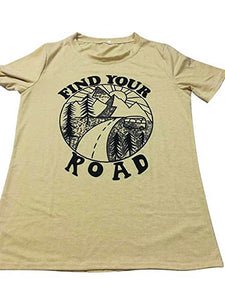 Find Your Road Sunset T-Shirt