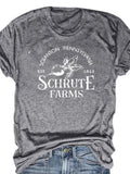 Schrute Farms Tee