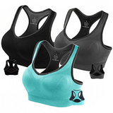 Sports Bras for Women-Shockproof Yoga Gather Underwear