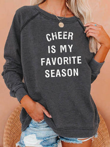 Cheer Is My Favorite Season Sweatshirt