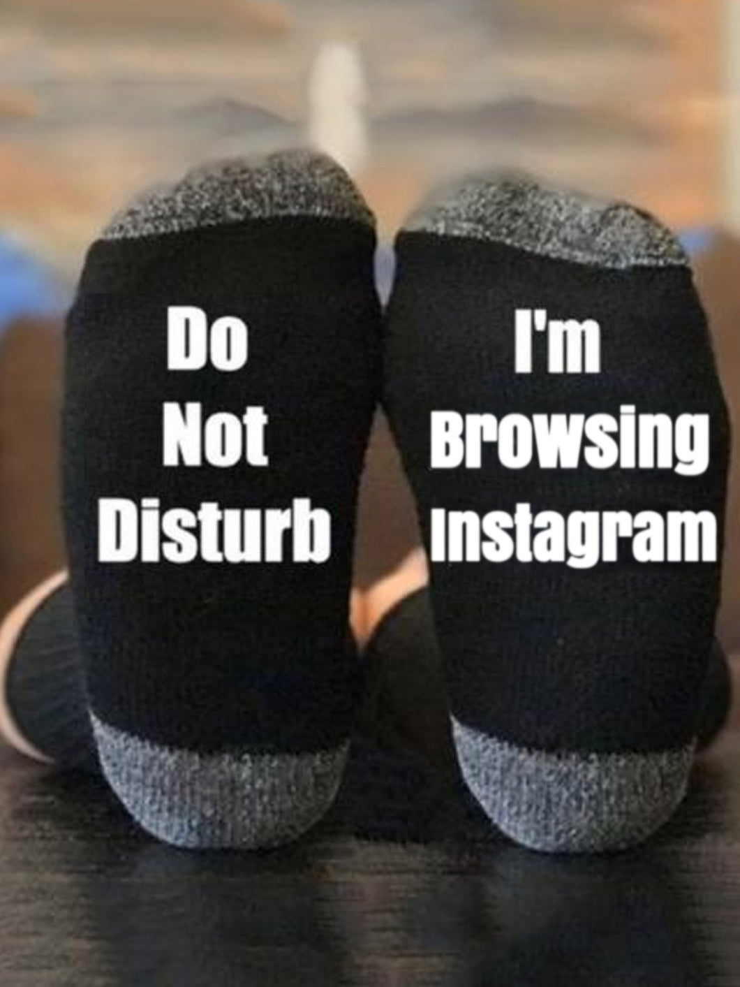 I'm Browsing Instagram Socks