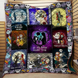 Best NBC Halloween Blanket Quilt