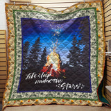 Sleep Under Stars Camping Blanket Quilt