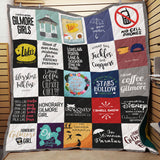 Gilmore Girls Classic Quotes Blanket Quilt
