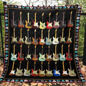 Without Music Life Would B Flat Blanket Quilt