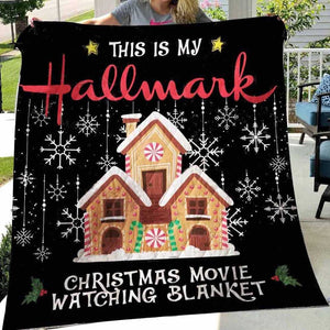 This Is My Hallmark Christmas Movie Blanket Quilt