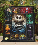 NBC Jack And Sally Blanket Quilt