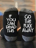 Go The Fuck Away Casual Socks