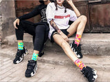 Tie Dyed Lovers' Cotton Socks