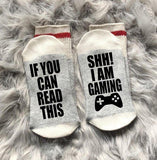 Shh! I'm Gaming Socks
