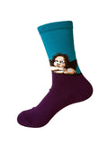 NEW 3D Retro Painting Art Unisex Funny Vintage Socks