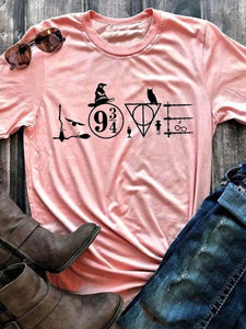 Love Cute Design T-Shirt