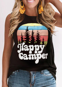 Happy Camper Forest Tank Top