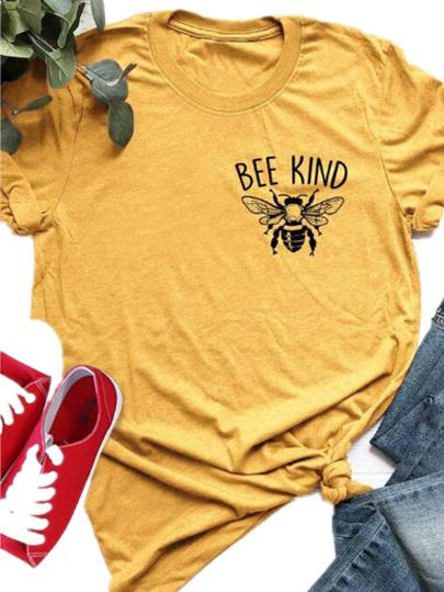 Bee Kind Cotton T-shirt