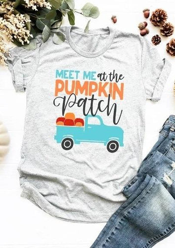 Meet Me At The Pumpkin Patch T-Shirt