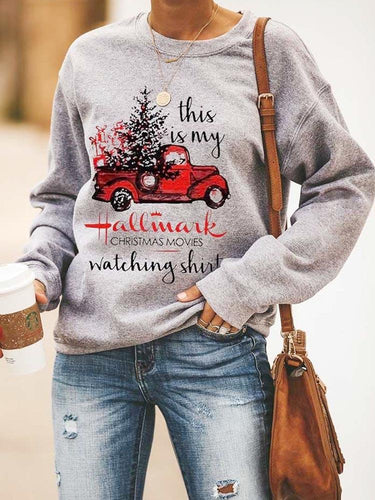 [PRE-SALE] This Is My Hallmark Movies Watching Sweatshirt