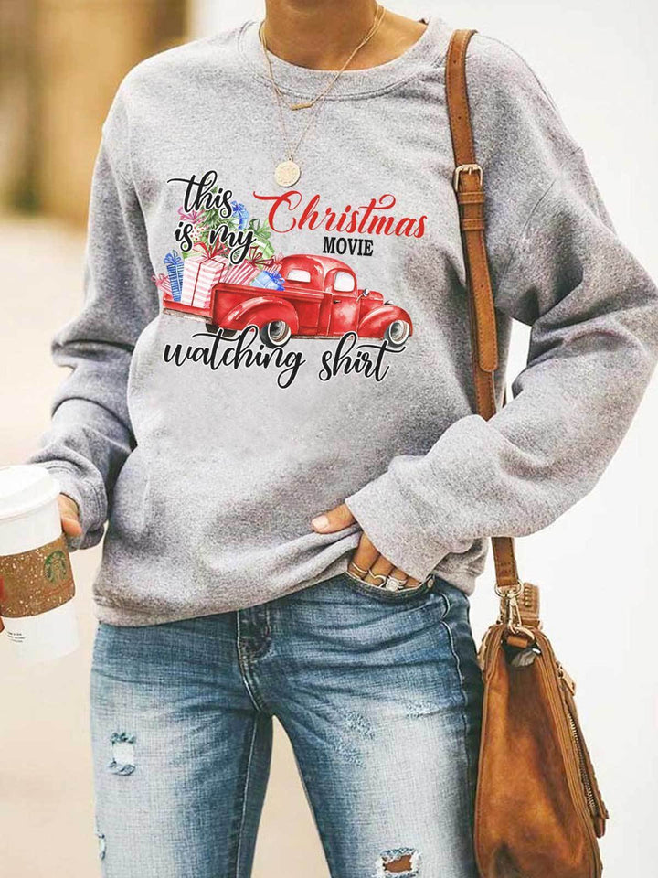 [PRE-SALE] This Is My Christmas Movies Watching Sweatshirt
