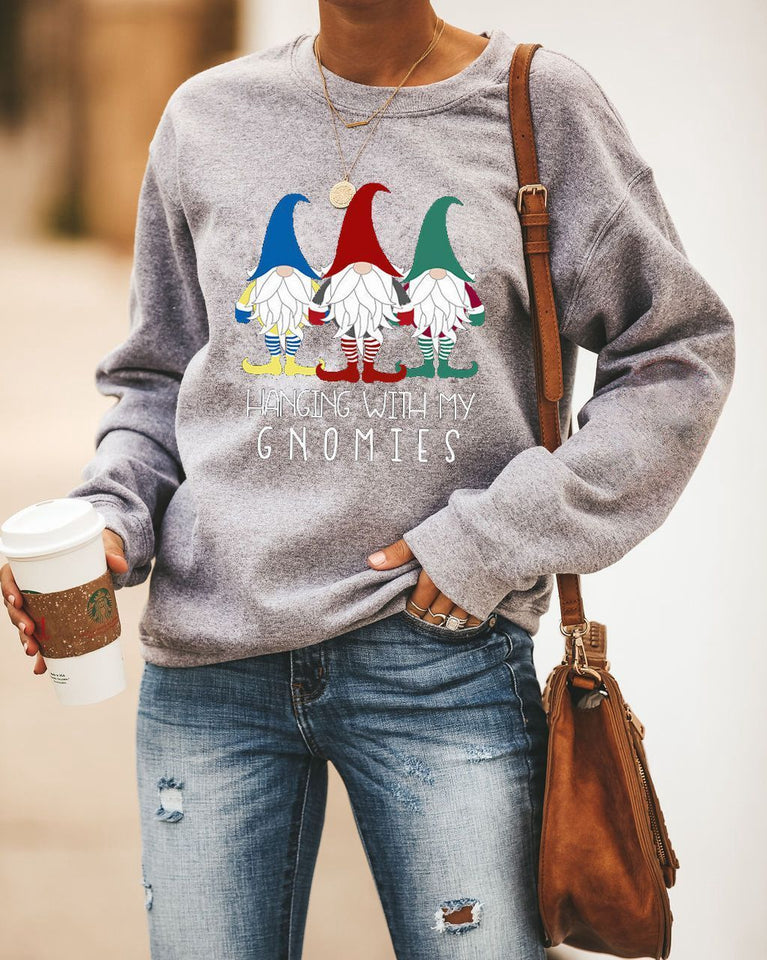 [PRE-SALE] Hanging With My Gnomies Xmas Sweatshirt