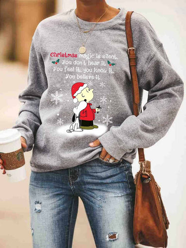 Christmas Magic Believe It Sweatshirt