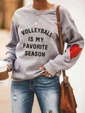 [PRE-SALE] Volleyball Is My Favorite Season Sweatshirt