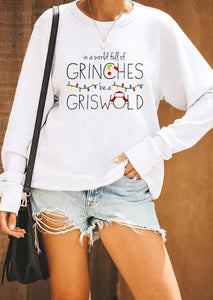 Full Of Grinches Be A Griswold Sweatshirt