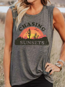 Chasing Sunset Tank Top