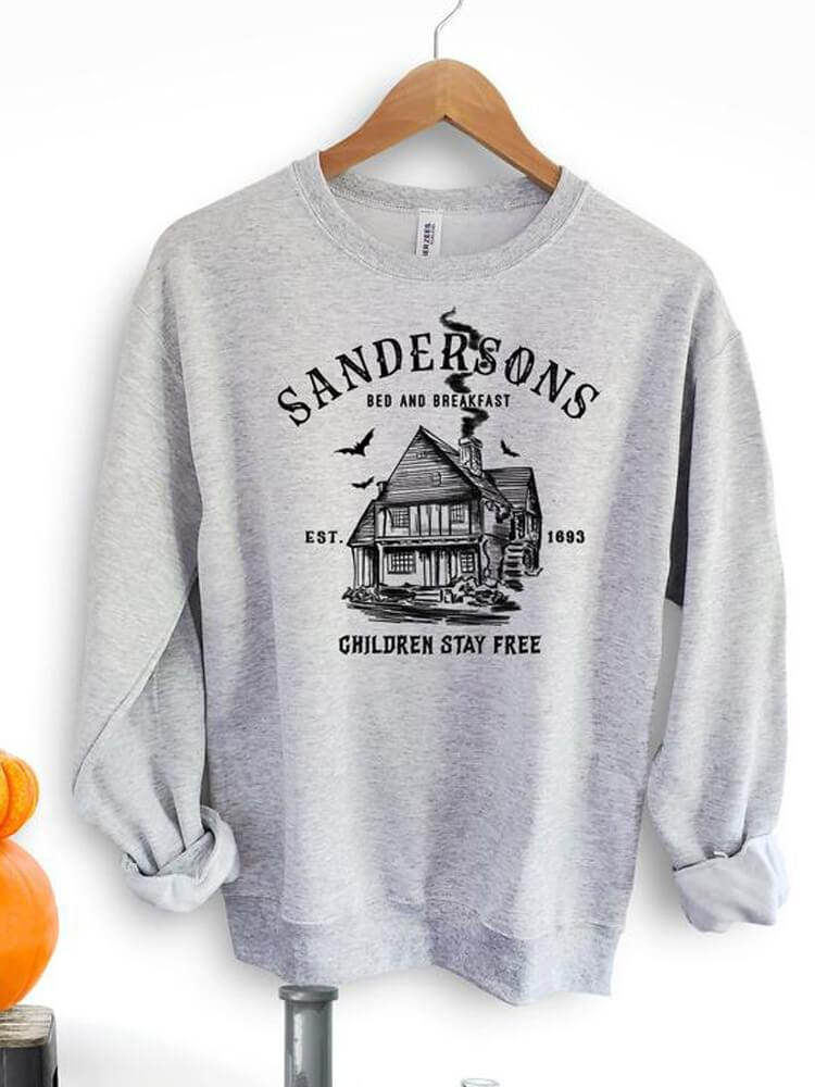 Sandersons' House Children Stay Free Sweatshirt