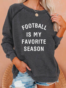 [PRE-SALE] Football Is My Favorite Season Vintage Sweatshirt