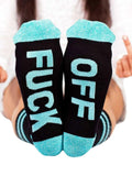 FUCK-OFF Letter Socks