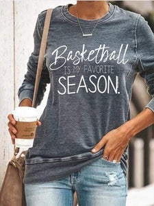 [PRE-SALE] Baseball Is My Favorite Season Sweatshirt