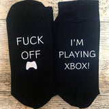 Fuck Off I'm Playing Xbox Socks