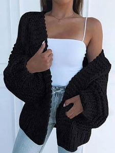 Knitted Comfy Sweater Cardigan