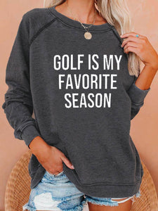 [PRE-SALE] Golf Is My Favorite Season Vintage Sweatshirt