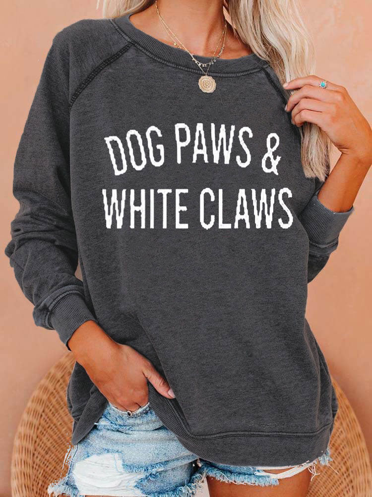 [PRE-SALE] Dog Paws White Claws Sweatshirt